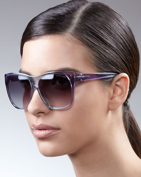 Gradient Sunglasses, Blue/Purple