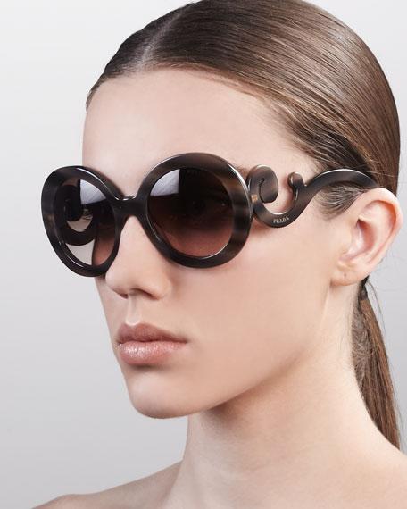 Baroque Sunglasses, Brown