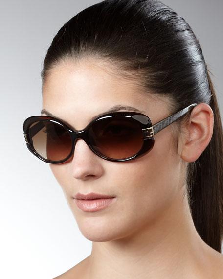 Mia Sunglasses, Brown