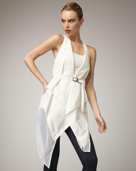 Tech-Fabric Wrap Vest