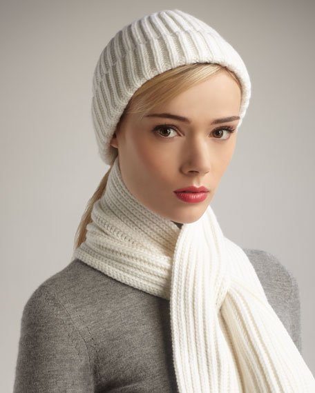 Knit Cashmere Hat