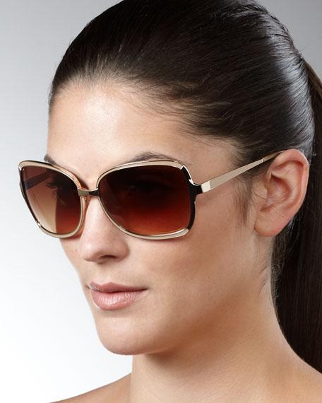 Serene Sunglasses, Light Golden