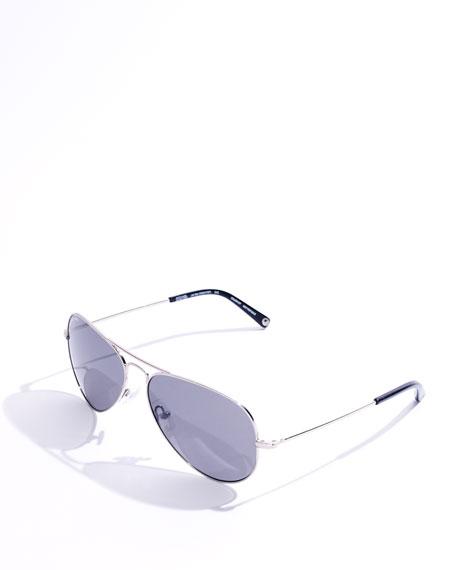 Jet Set Polarized Aviator Sunglasses