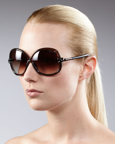 Knotted-Temple Sunglasses