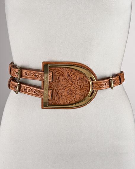 Tri-Strap D-Ring Belt