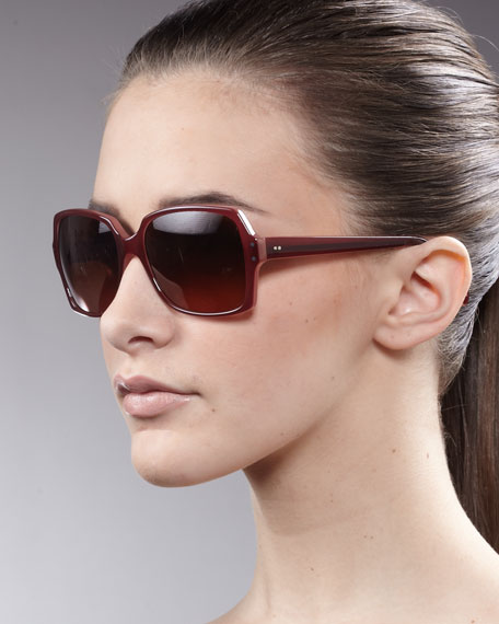 Helaine Sunglasses, Claret
