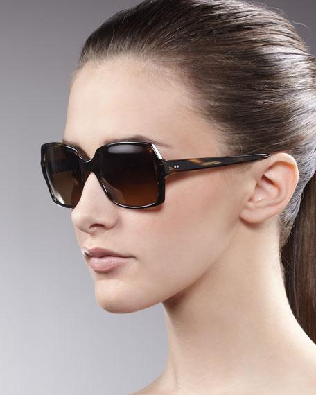 Helaine Sunglasses, Cocobolo