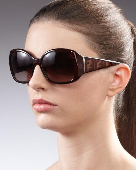 Zucca Sunglasses, Brown