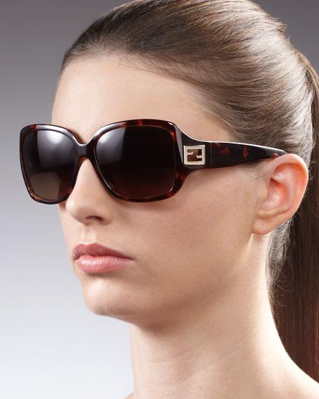 Forever Zucca Sunglasses, Tortoise