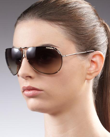 Classic Sunglasses, Golden