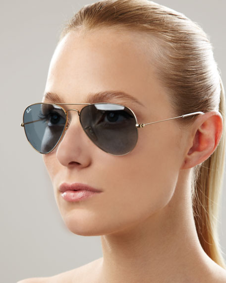 Aviator Sunglasses, Sky Blue