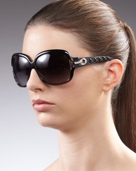 Cannage-Detailed Sunglasses