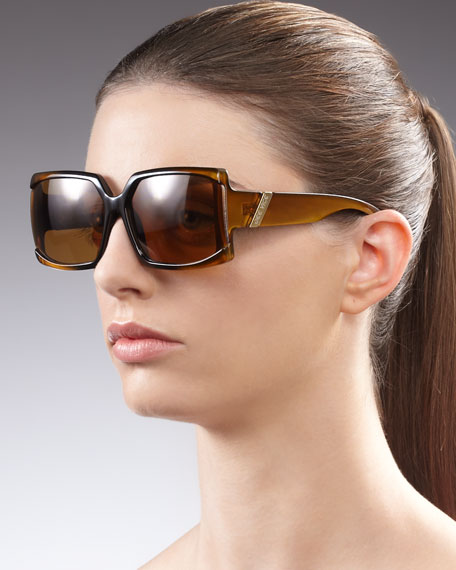 Mini Red Hot Sunglasses, Golden