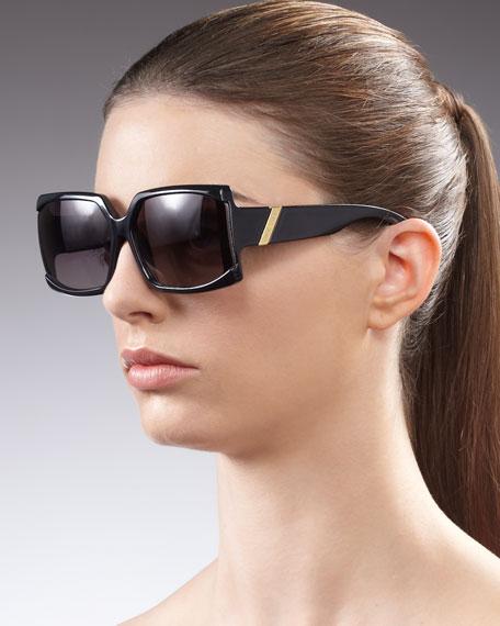 Mini Red Hot Sunglasses, Black