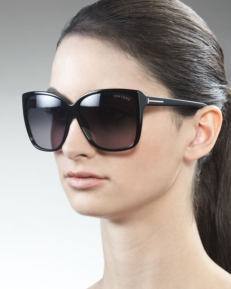 Lydia Sunglasses, Black