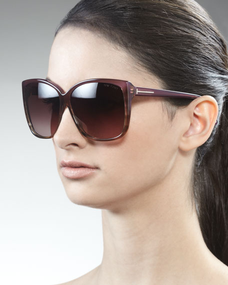 Lydia Sunglasses, Violet