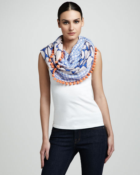Water Circles Infinity Scarf
