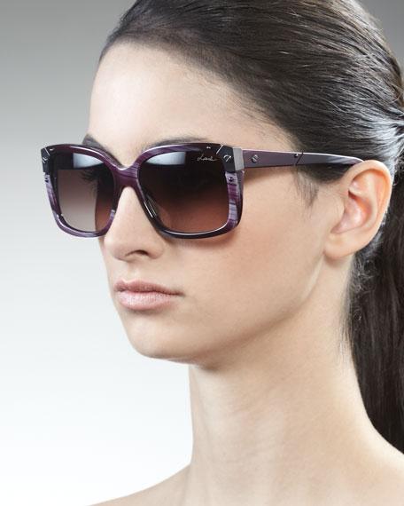 Square Horn Sunglasses