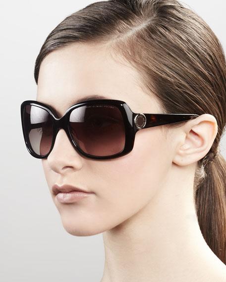 Ombre-Frame Sunglasses