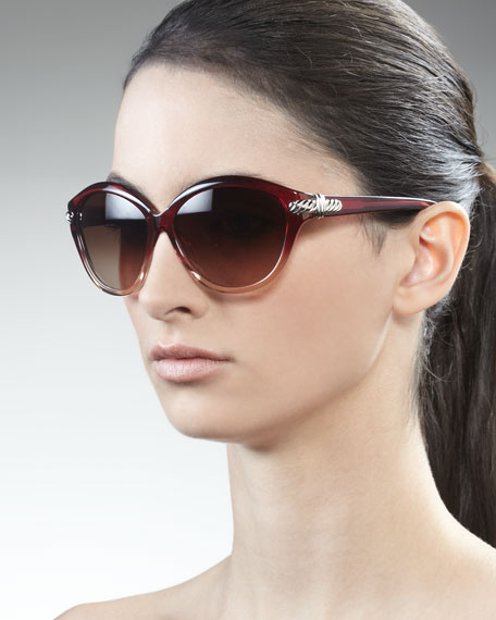 Thoroughbred Sunglasses, Garnet Gradient