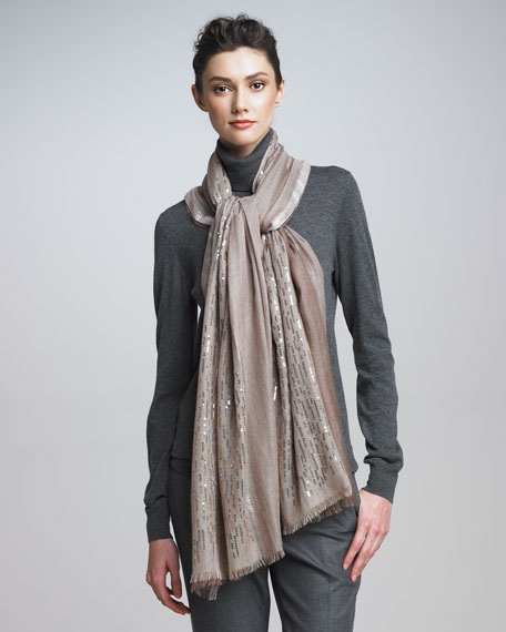Sequined Evening Stole