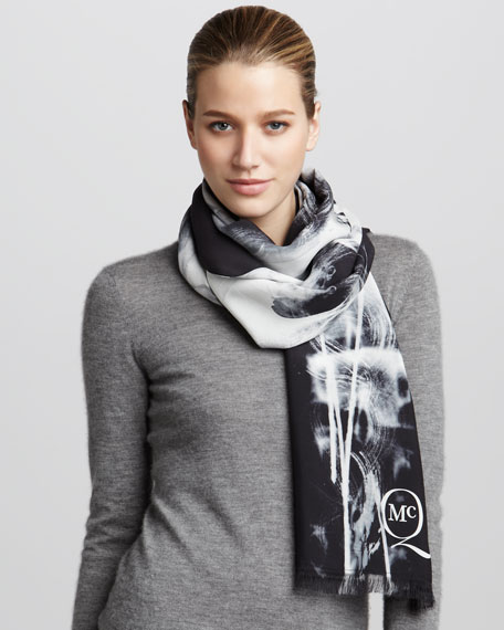 X-Ray Silk Scarf