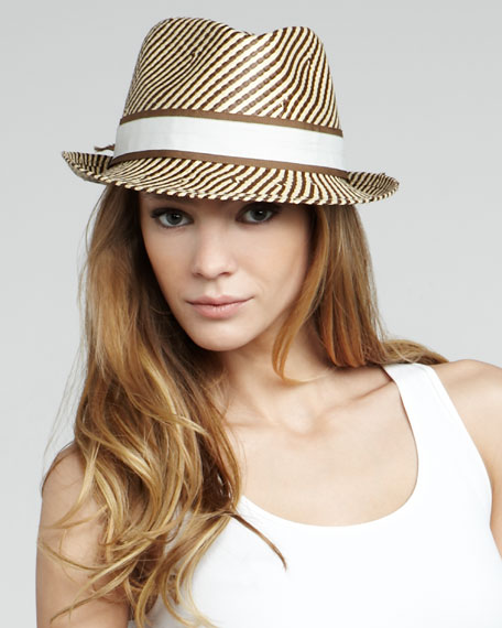 Tailor Made Straw Fedora