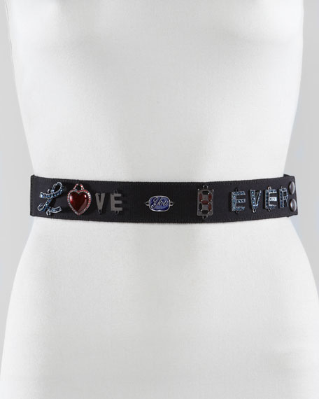 Love-You-4-Ever Ribbon Belt
