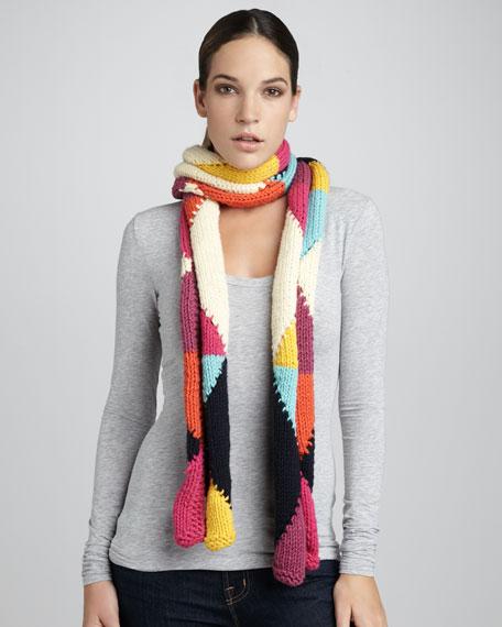 argyle scarf