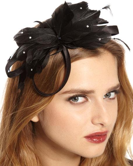 Eiffel Flower Headband, Black