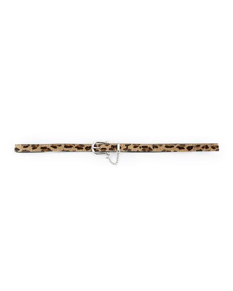 Shannon Leopard-Print Belt (Stylist Pick!)