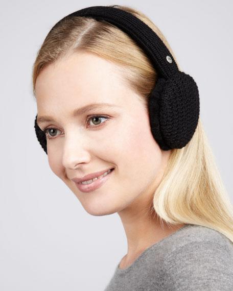 Great Jones Headphone Ear Muffs, Black