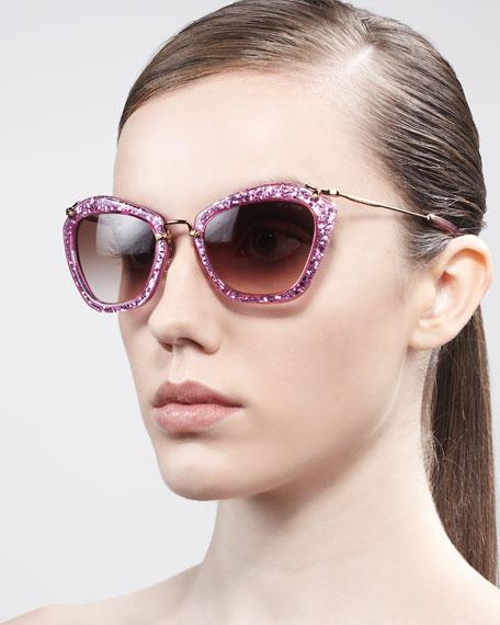 Extreme Catwalk Sunglasses, Bronze