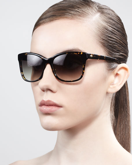Fiona Cateye Gradient Sunglasses, Heroine Chic