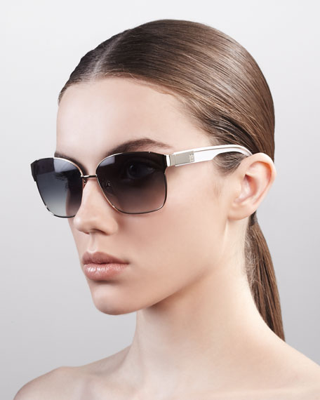 Squared Metal Sunglasses