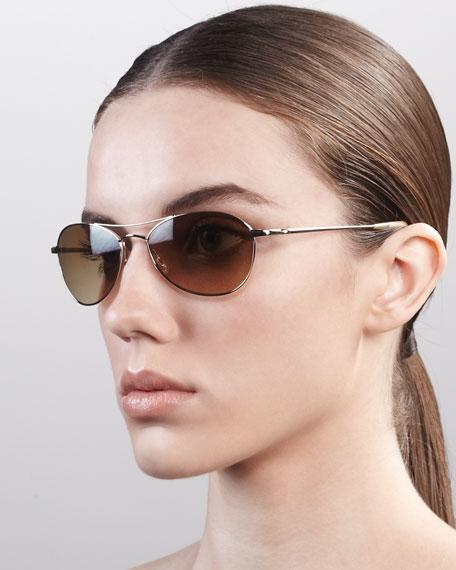 AERO 57 Metal Polarized Sunglasses, Java