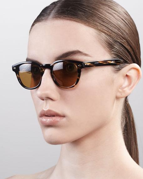 Sheldrake Sunglasses, Cocobolo
