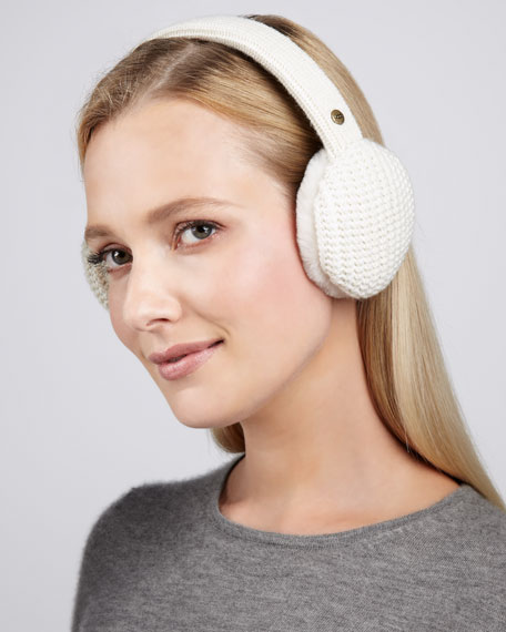 Great Jones Speaker Ear Muffs, Cream