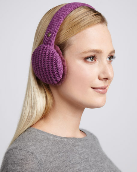 Great Jones Headphone Ear Muffs, Plum