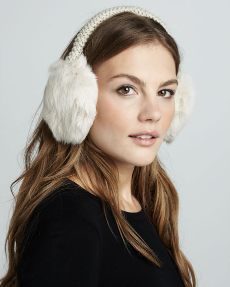 Fur Ear Muffs, Oat