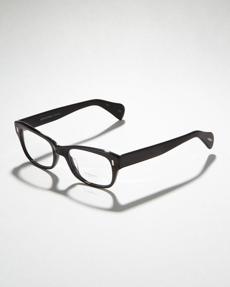 Wacks Fashion Glasses, Black