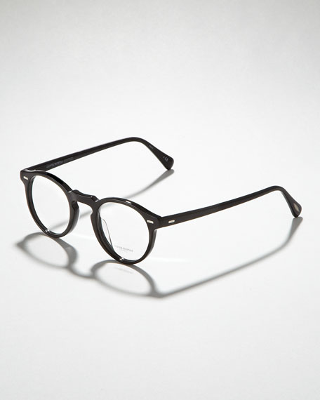 Gregory Peck Fashion Glasses, Black