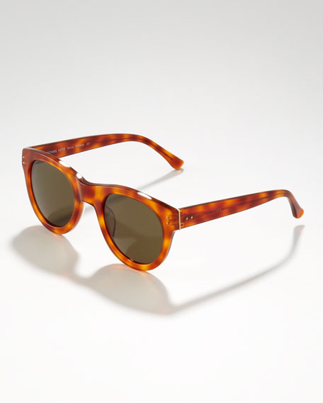 Monroe Sunglasses in Amber Tort