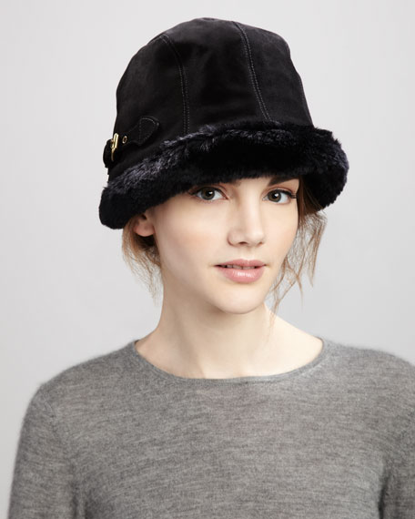 Vail Suede Packable Hat