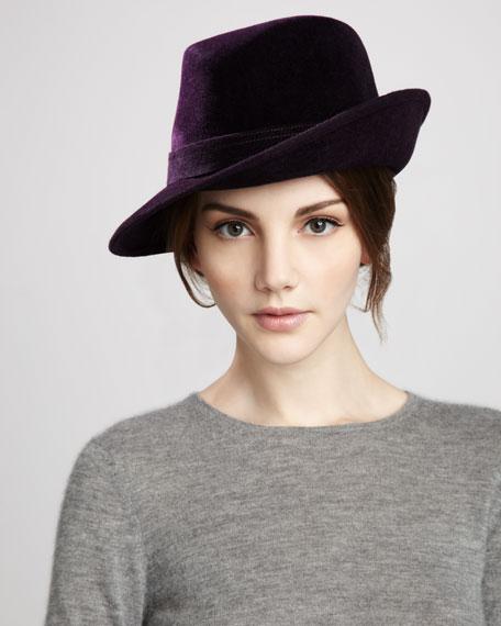 Tracy Velour Hat