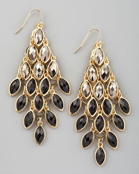 Ombre Crystal Drop Earrings