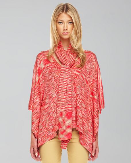 Space-Dye Knit Scarf