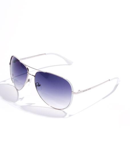 Sicily Metal Aviator Sunglasses