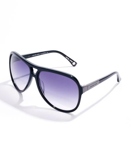 Isla Luxe Plastic Aviator Sunglasses