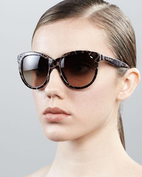 Oversize Cat-Eye Sunglasses
